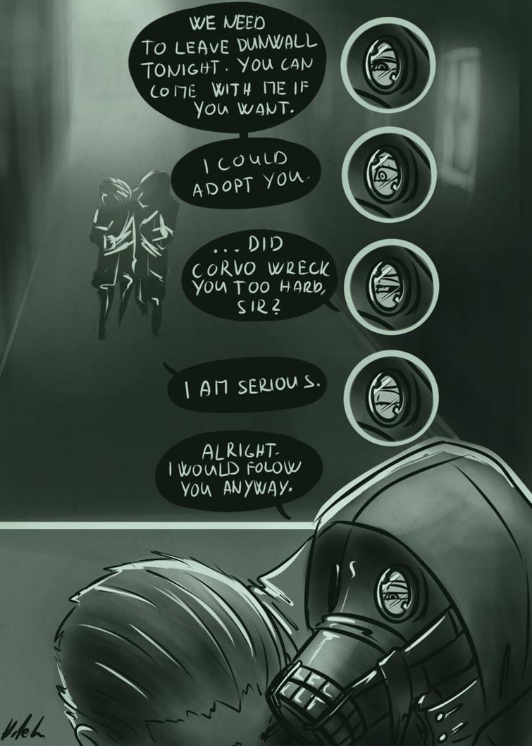 Dishonored: Daud and Thomas by Hizoku-no-Oni