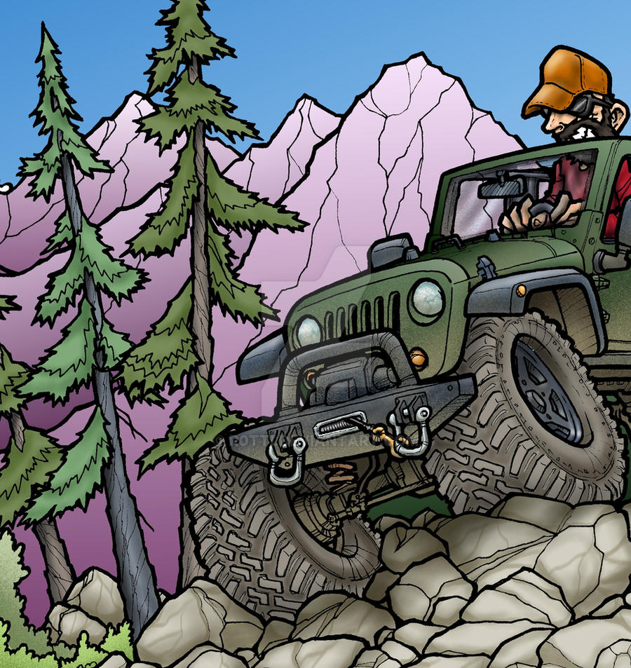 JEEP in Alaska DETAIL by R0tti