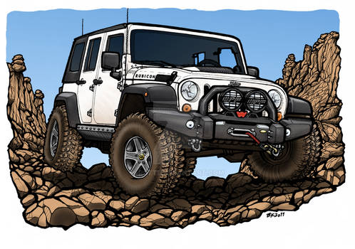 Jeep Unlimited AEV commission