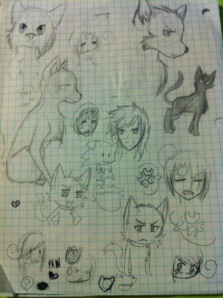Doodles, doodles everywhereee |D by TheBlackCatX