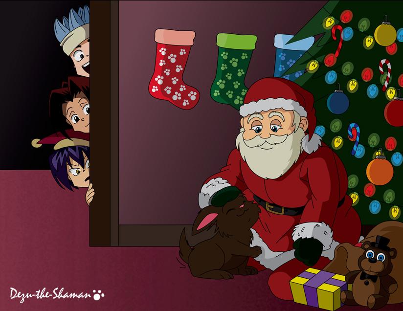 The Night Before Christmas by Dezu-the-Shaman