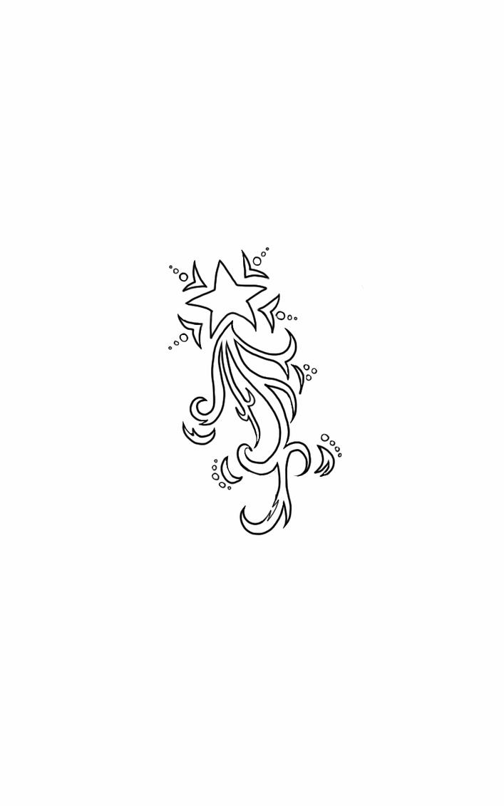 shooting star tattoo design by 2funki4wheelz on deviantart. Black Bedroom Furniture Sets. Home Design Ideas