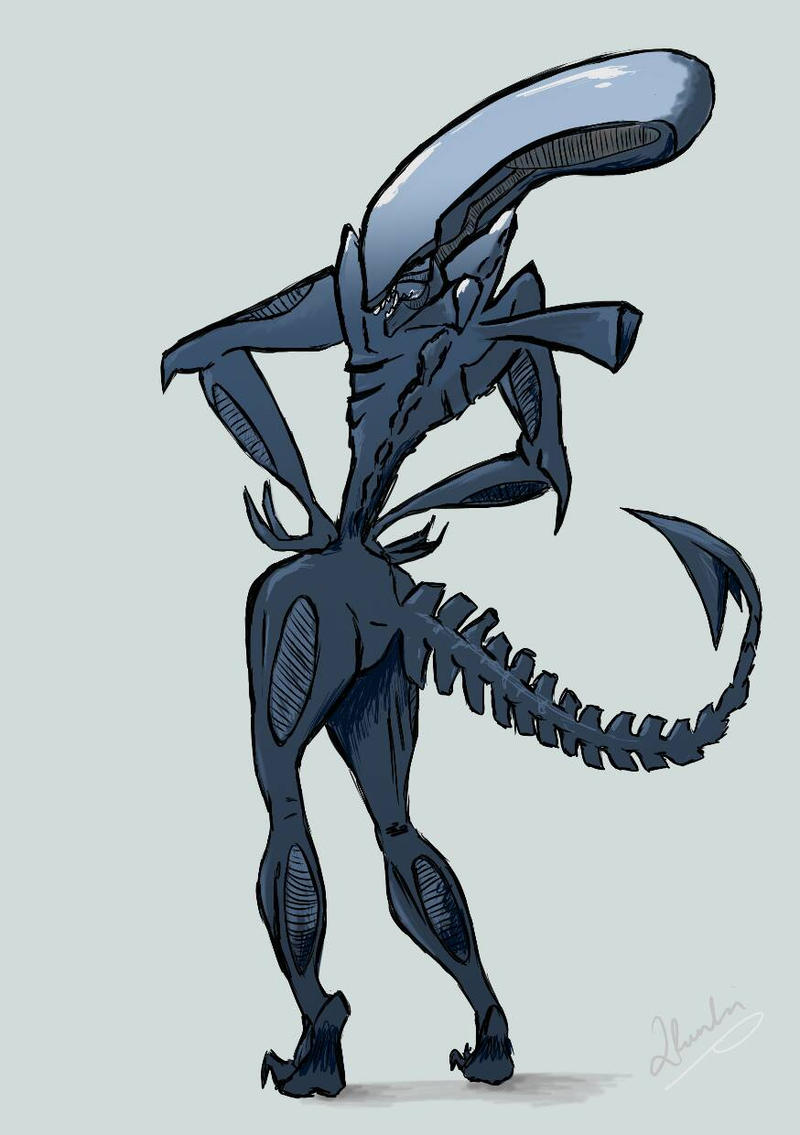Sexy xenomorph by 2Funki4Wheelz on DeviantArt