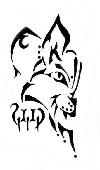 Tribal Lynx Tattoo by ~2Funki4Wheelz on deviantART