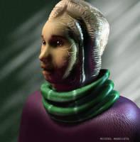 Retrato alien