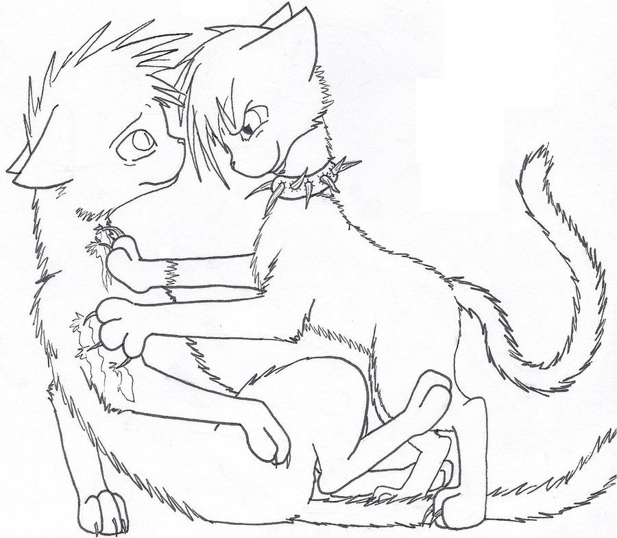 warrior cats coloring pages coloring sheets - photo #38