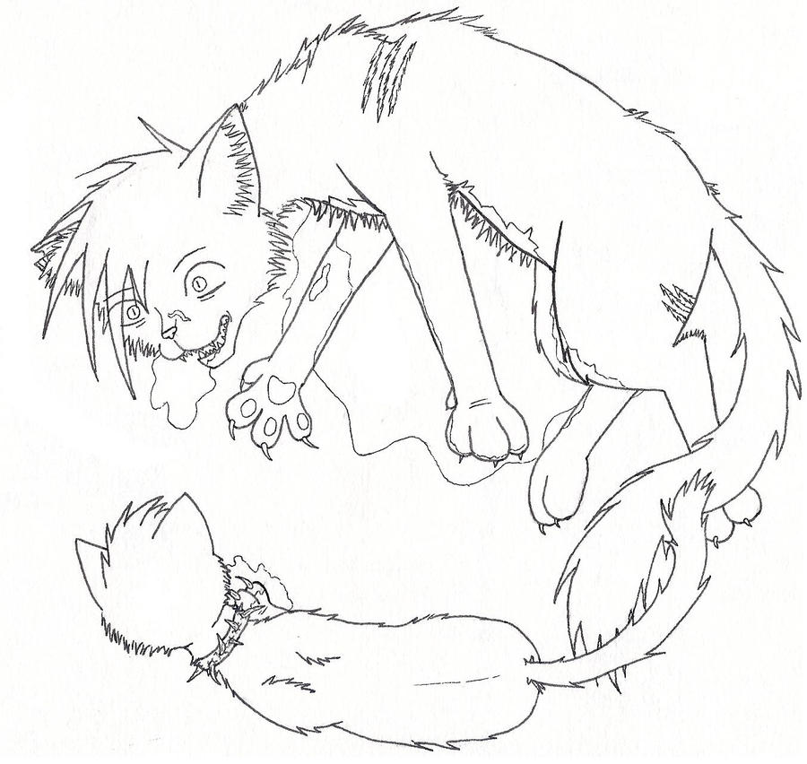 cute warrior cats coloring pages - photo#31