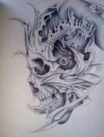 Bio Skull by Pick1