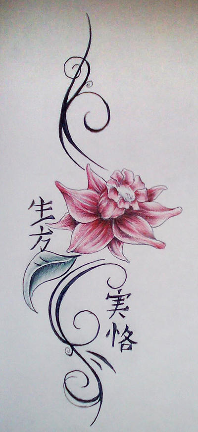 Flower Design - flower tattoo