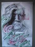 Pablo Picasso Graff