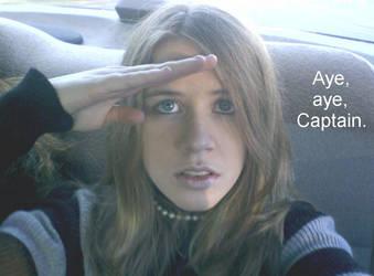 Aye, Aye, Captain by sailorsexyface