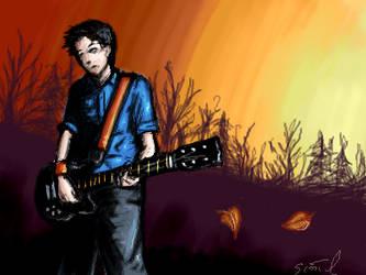 fall guitar guy