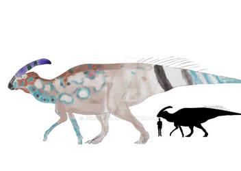 Parasaurolophus walkeri by JemDarpole