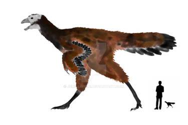 Calamospondylus oweni by JemDarpole