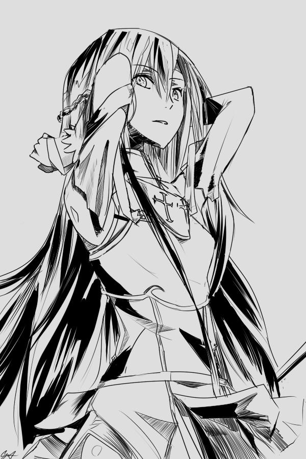 mono . Asuna by cafekun