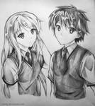 Sakurasou no Pet na Kanojo - Mashiro and Sorata