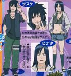 Road to Ninja: Sasuke and Hinata designs