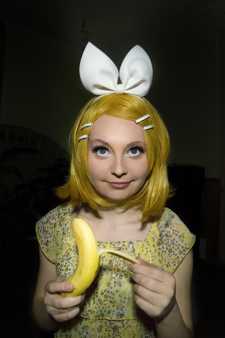 Banana Rin by TeddyBear540