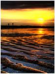 Sunset on Koksijde