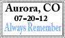 The Aurora Shooting Massacre by RS-Kyra