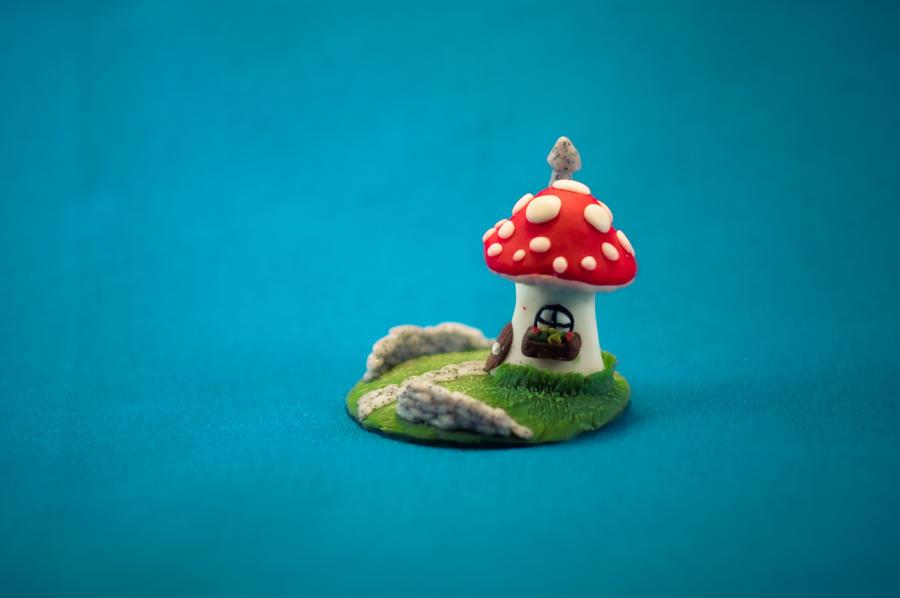 Mini mushroom hut by sneakyfetusprod