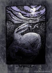 Inktober 2018 - 12 Whale by NekoLychee