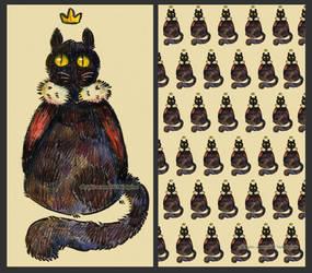 Royal cat by NekoLychee