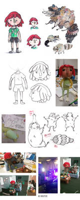 School work: Concept Art Stop Motion