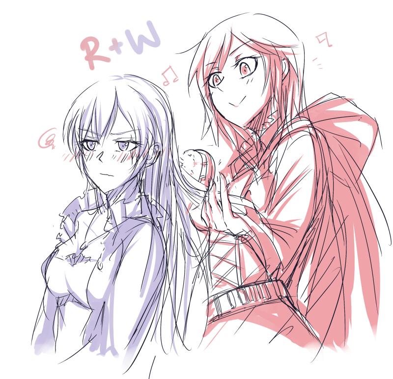 R+W by kimdakim