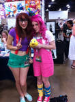 Pinkie Pie and Hipster!Ariel