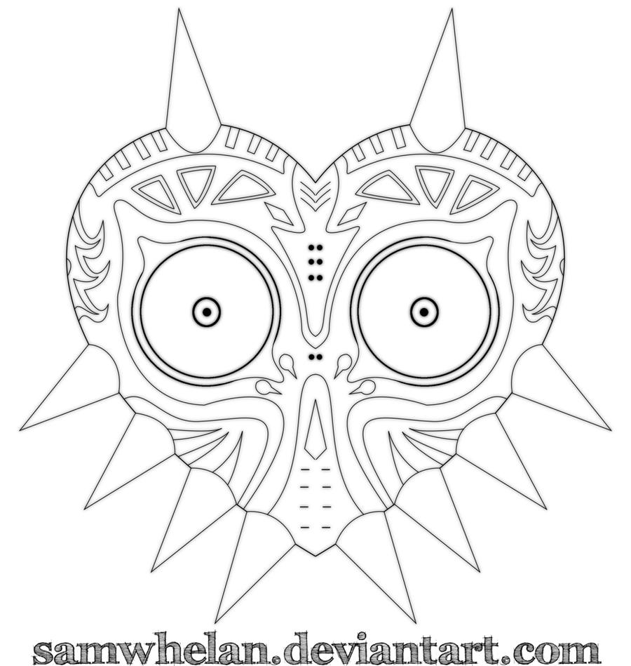 Major'S Mask Drawing 69