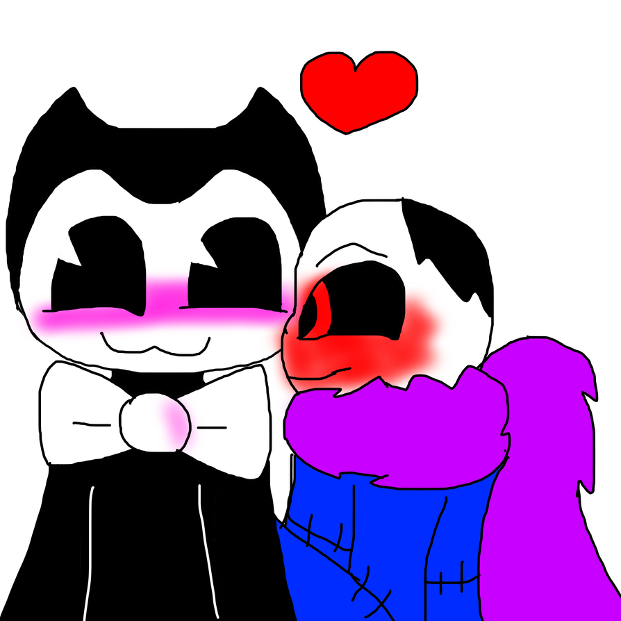 Shiping Me And Bendy By HORRORTALESANS On DeviantArt