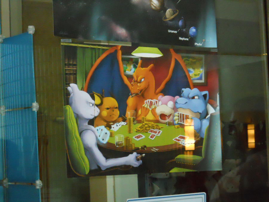 Pokemon Playing Poker by Radirs8 on DeviantArt