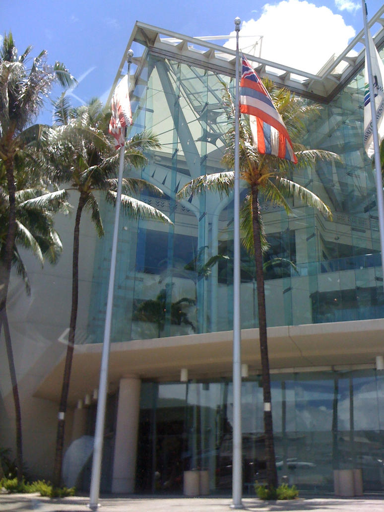 Hawaii cultral center by uematsu77