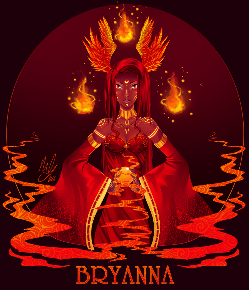 BRYANNA - She's on Fire by Maylhine