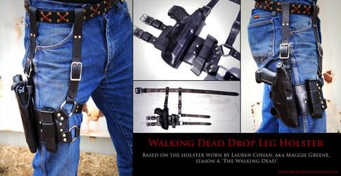 Walking Dead Drop Leg Holster