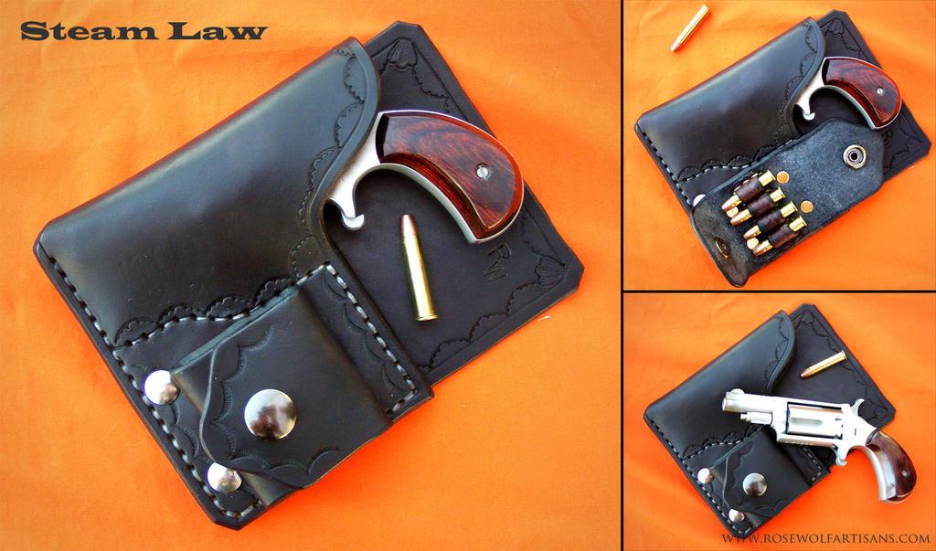 Back Pocket Derringer Holster By Rosewolfartisans On