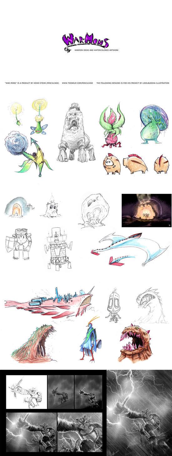 Warmon - my Monsterdesign by LiddlBuddha