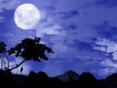 Night scenery by Mathlx