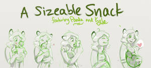 Sizeable Snack Sketch Comic