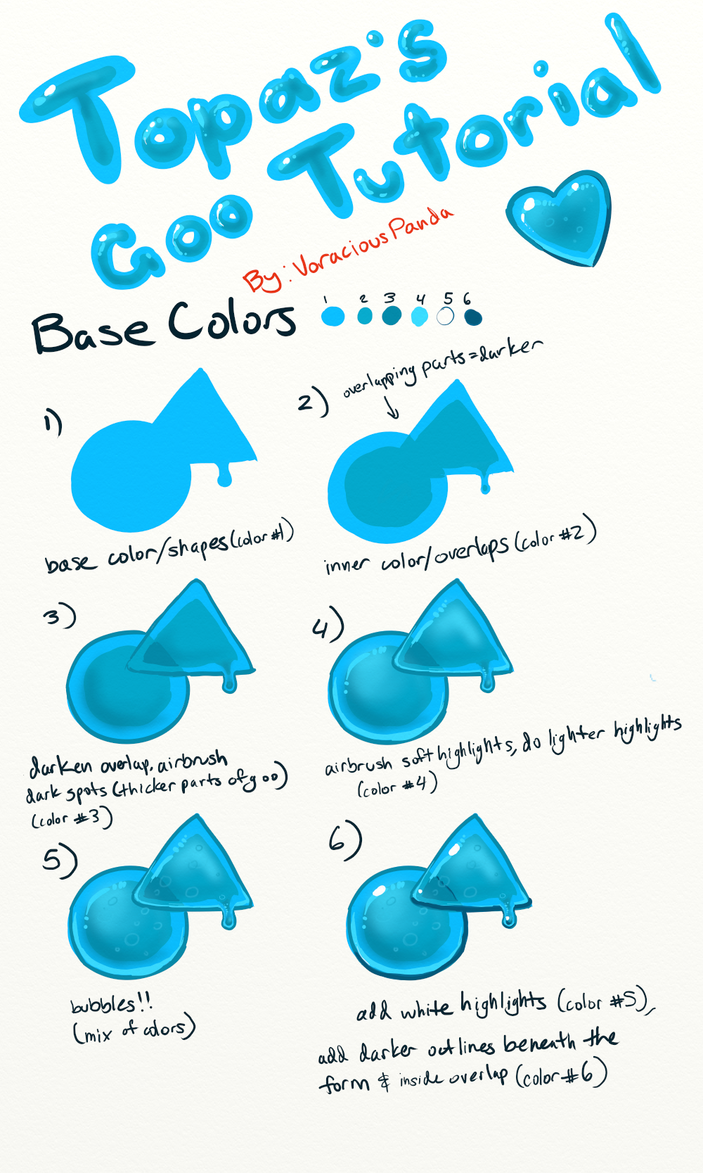 Goo Tutorial By VoraciousPanda On DeviantArt