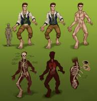 SPN Persona Species Ref (plus info) by VoraciousPanda