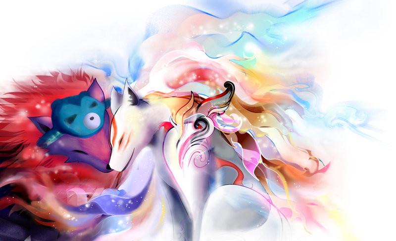 Okami love by emily-e by oki-fans on DeviantArt