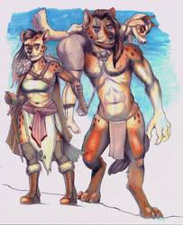 Hurri and Snorri