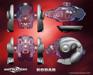 Kodar - Orthographic Views