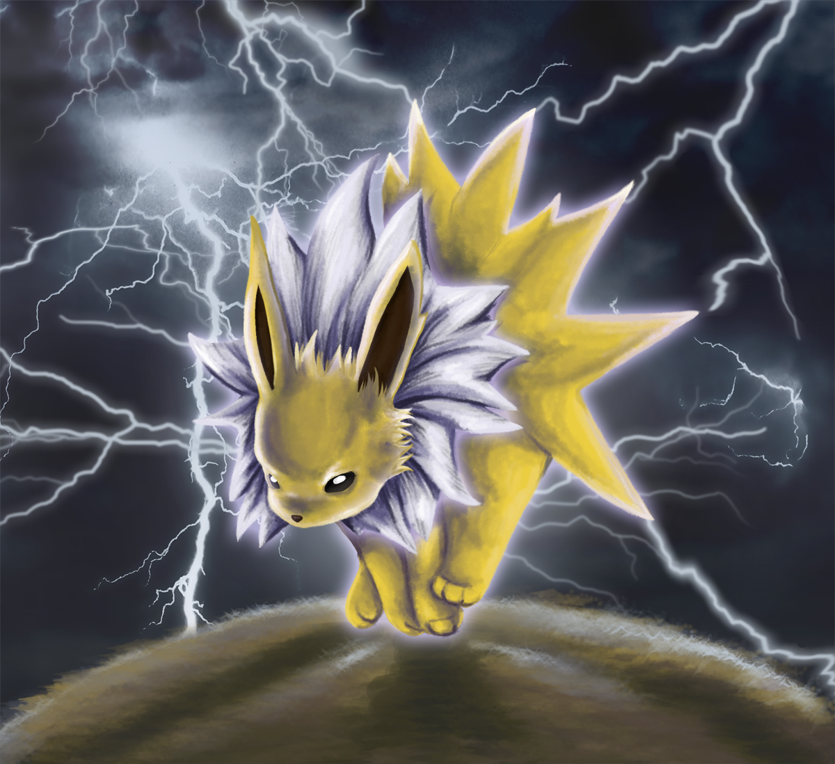 Jaques the jolteon by timatae on deviantart