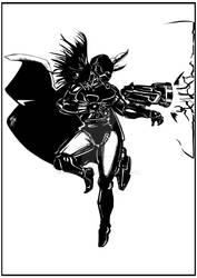 Iron Loki (fan-art by me) by Zeeshanart