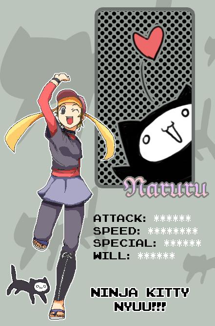 Naruru : Pixel ID by naruto-sexy-no-jutsu