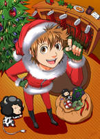 KHR: Happy Holidays 2007 by naruto-sexy-no-jutsu
