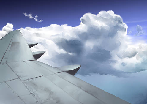 Clouds - Matte Painting Practice